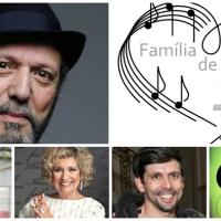 Família de Artistas - Carlos Mendes, ex-mulher e filhos
