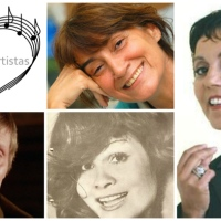 Família de Artistas - Maria Viana, José Viana, Dora Leal e Madalena Leal