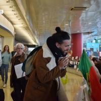 O vídeo da chegada da Delegação Portuguesa a Lisboa