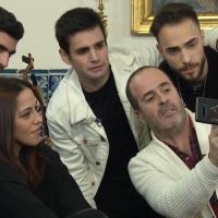 """""""Em casa D'Amália"""" emissão #12 com Sara Correia, Diogo Piçarra, André Amaro, Bruno Chaveiro e João Filipe"""